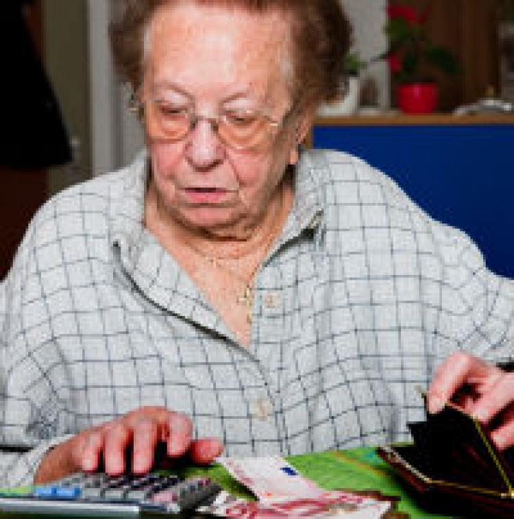 Pensionerna går upp – sedan ner