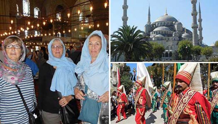 Många upplevelser när Veteranen besökte Istanbul