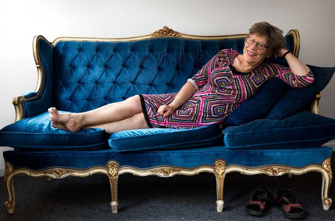 Agnes Wold: Jag måste ha fajt