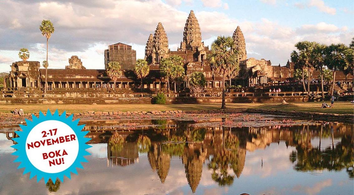 Upplev Thailand och Kambodja