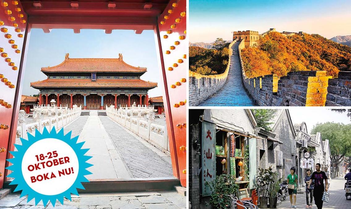 Pekings pärlor – Kultur och shopping