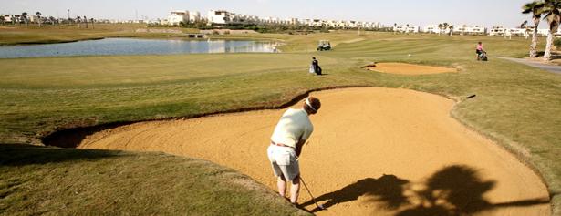 Golfa i sandbunkrarnas Egypten