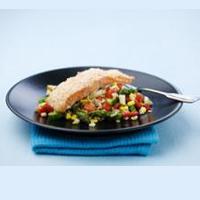 Asiatisk lax med matvete