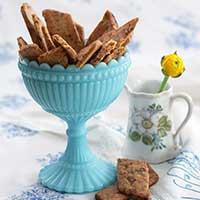 Salta chokladkakor, recept
