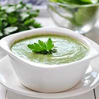 ärtcreme, creme på gröna ärtor, recept