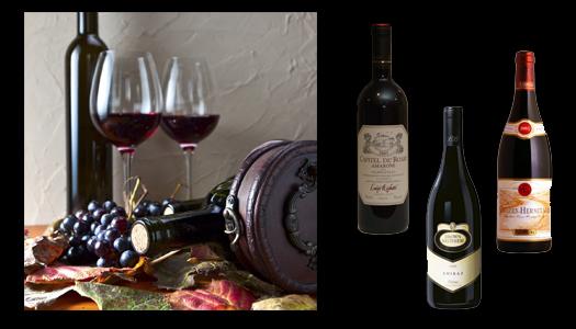 Vilda viner till vilt kött