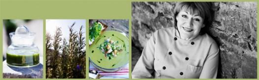 Matreportage: Kryddgrönt från Karins Ölandskök