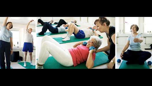 Tommy och Annika blir stadiga med pilates