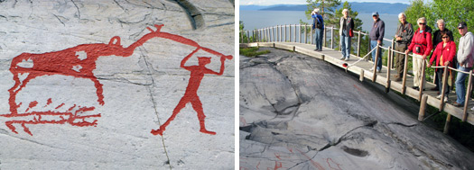 Res till stenhimmelriket i norska Alta