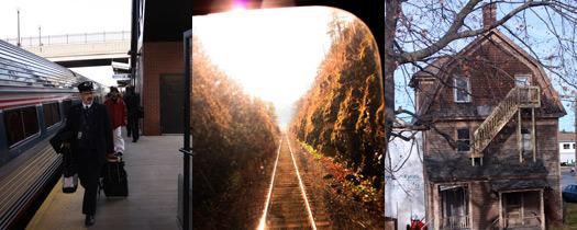 Med tåg från New York tillMontreal