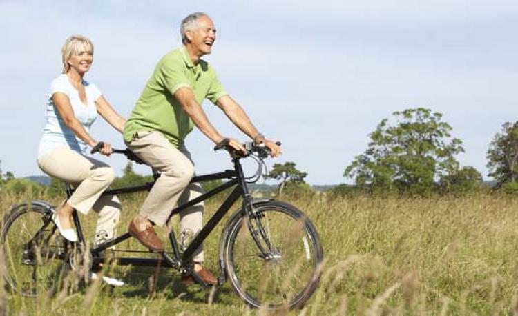 Byt cykel för bättre balans