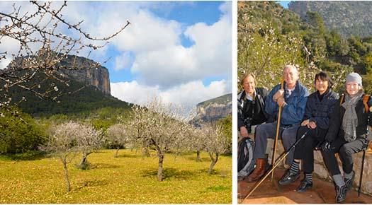 Vandra i solen på Mallorca