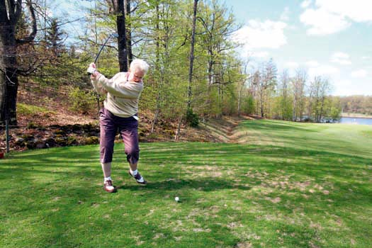 Golf: Swing it Sivan!
