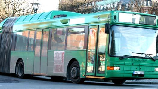 Här är bussresan gratis