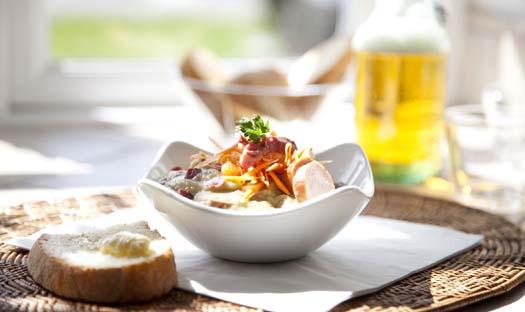 Äldremat varierar från gourmet till oätlig