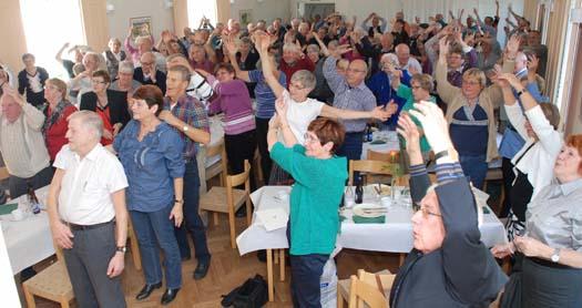Umeå norra firade 30 år som förening med jubileumslunch