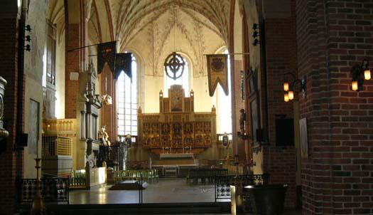 Gammal kyrka och nytt museum i Strängnäs