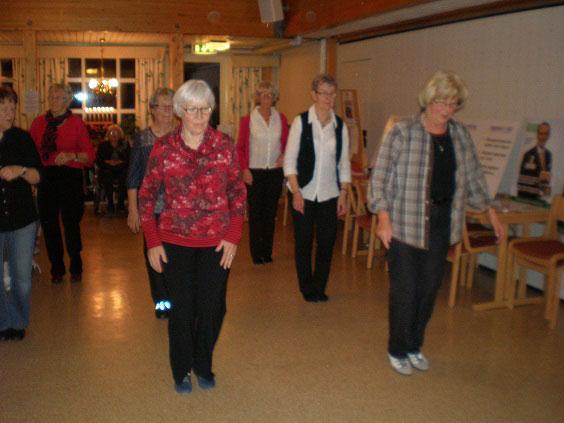 Linedance i SPF Kilsbygden