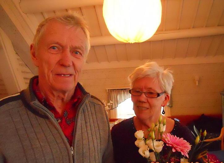 Göran och Hulda Karlsson avtackas