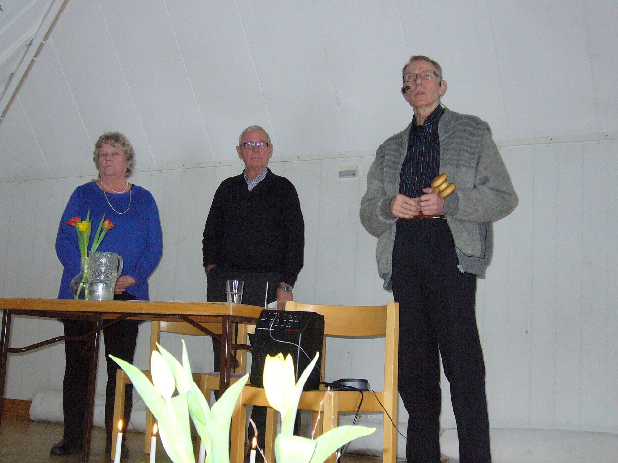 Nya medlemmar hälsades välkomna till Tystberga