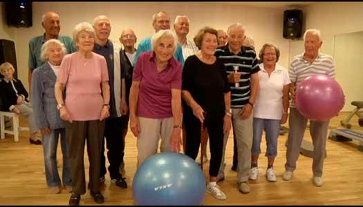 Ingen är för gammal för att börja träna
