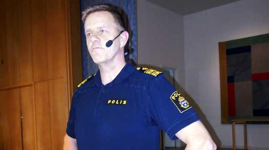Polisbesök på Malmaberg