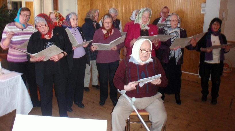 Sång hos SPF Nordanstig