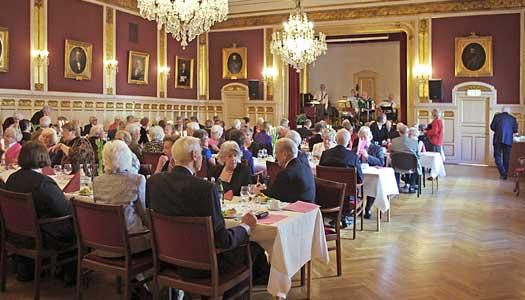 Trevlig underhållning på Ribersborgs 20 årsjubileum