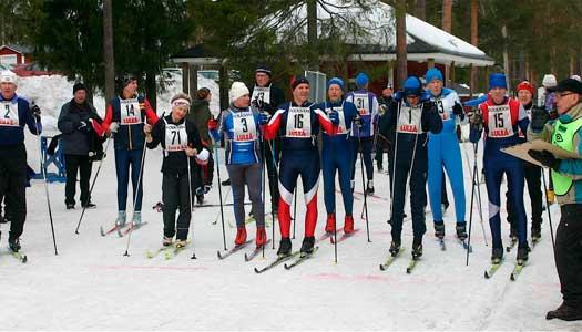 Norrbottens pensionärer ordnade eget skid -VM!