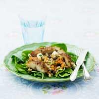 Makrill med matvetesallad