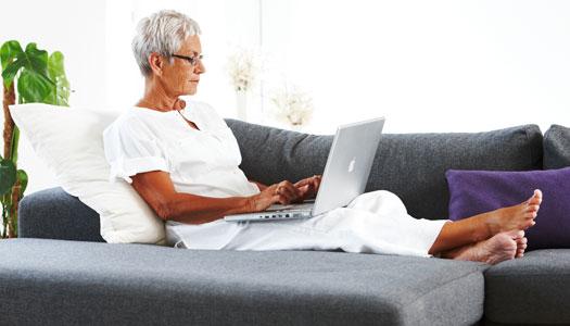 Flest nya internetanvändare bland seniorer