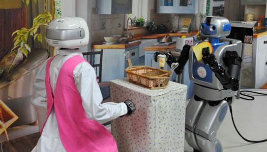 Robotar – framtidens hemtjänst?
