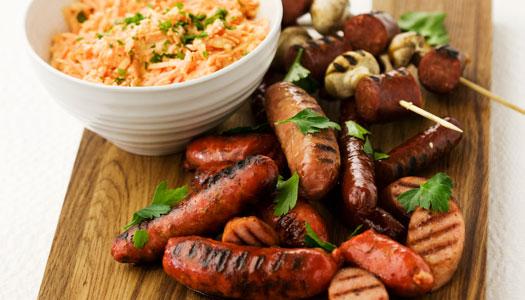 10 goda korvar – och tips på vad du kan äta till