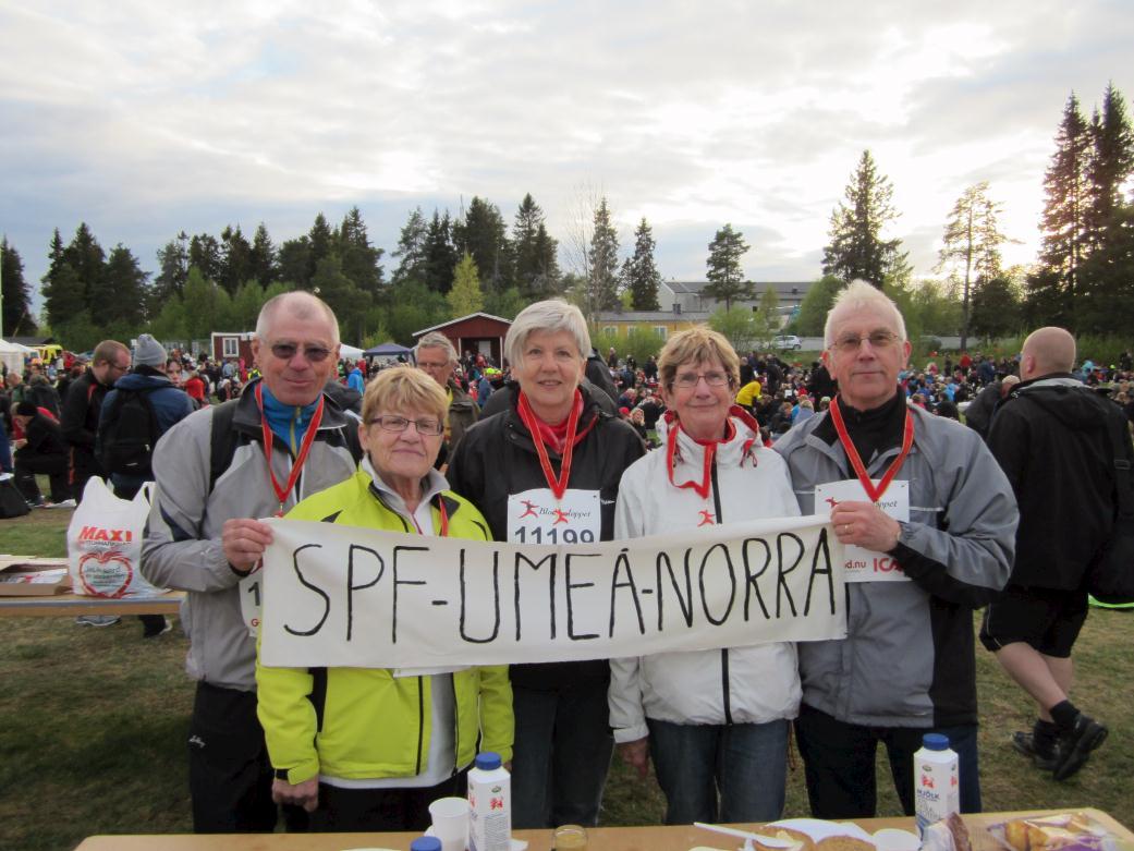 Umeå Norra deltog i Blodomloppet