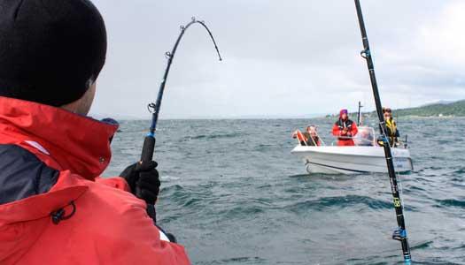 Drag i fisket i nordnorska Saltströmmen