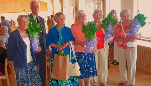 Blomsterfest på Tio Öars 25 årsjubileum