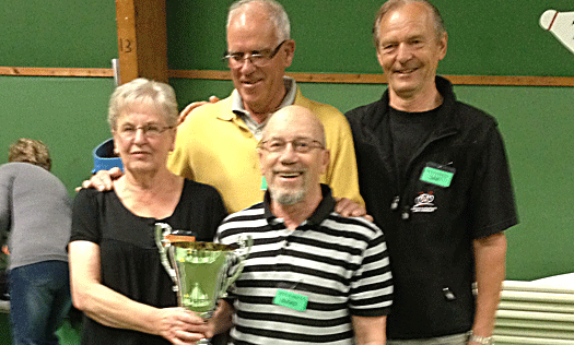 Farsta vann tidernas första Mattcurlingturnering!