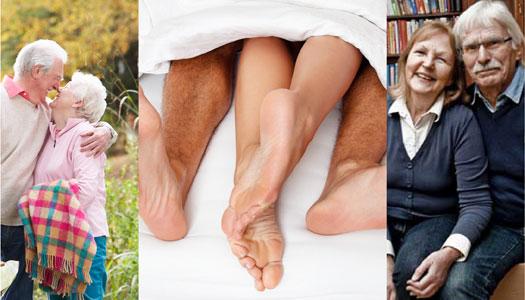 Kärlek och sex på äldre dar