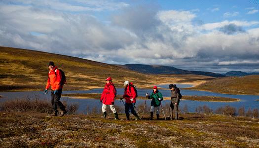 Lyxig fjällvandring i Ramundberget