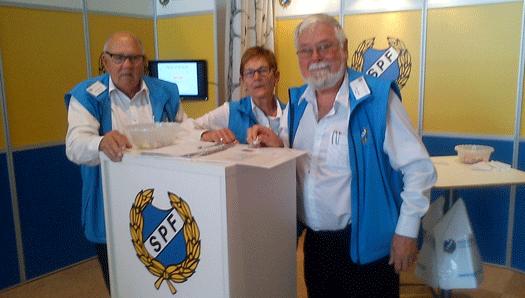 SPF raggade medlemmar på årets Elmiamässa