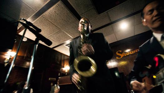 Jazza runt i New York!