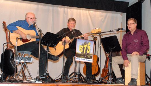 Birch Town Singers på Umeå Norras månadsmöte