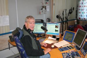 Leksand besökte Sveriges Radio, SVT