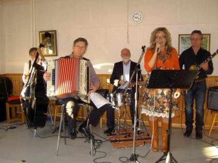 Mikaels kvintett stor succé hos SPF i Mora