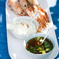 dippsås, dressing till skaldjur, recept, thailändsk dressing, thailändsk dippsås