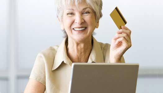 Fler seniorer handlar på nätet