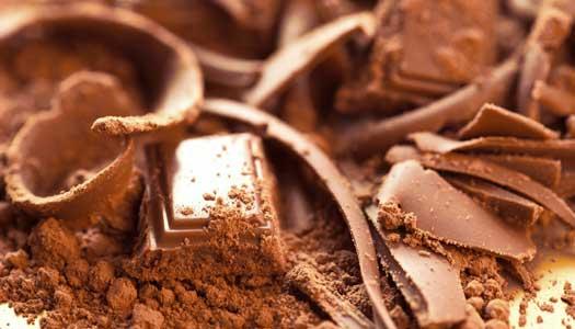 Mota mörket med choklad
