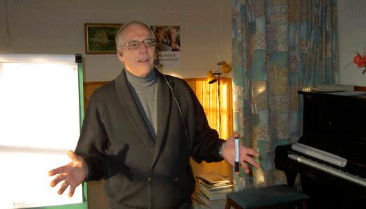 Lennart Nilsson på Majstångsbacken i Mora