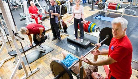 Styrketräning: Säffles seniorer stärker sig