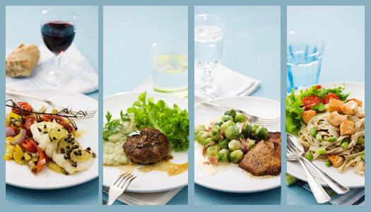 Välj mat som passar dig – 4 goda recept